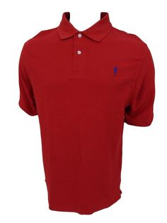 Payne Stewart Legacy Polo Shirt Size M Medium Red Short Sleeve New Wo/ tags #PayneStewert #PoloRugby