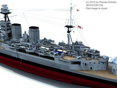 The HMS Hood launched in 1918 was the last battlecruiser built for the Royal Navy; she was the only one built from several units that had been planned. Model Warships, Hms Hood, Hobbies For Men, Naval History, Hobby Photography, Navy Ships, Submarines, Aircraft Carrier, Model Building