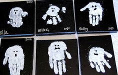@karyn owens, the october calendar ghost looks somthing like this, you just dont paint their thumbs