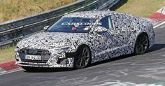 2018 Audi S7 Caught Stretching Out Its Bi-Turbo V6 At The Nurburgring #Audi #Audi_A7