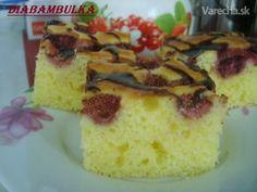 Ovocná bublanina s jogurtom (fotorecept) - Recept