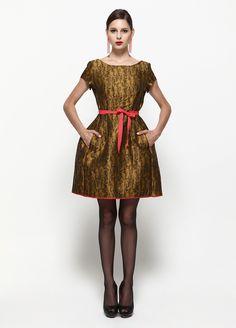 EXQUISE Balenli Gangol Elbise Markafoni'de 239,99 TL yerine 79,99 TL! Satın almak için: http://www.markafoni.com/product/2979699/