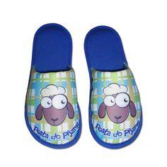 Pantufa Festa do Pijama Ovelhinha Azul Royal > Conforto Store