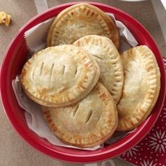 Football Fest Empanadas Recipe from Taste of Home -- shared by Jane McMillan of Dania Beach, Florida