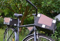 Volle Fahrrad Gepäck Stamm Fahrradtasche Fahrradträger von VOZILA