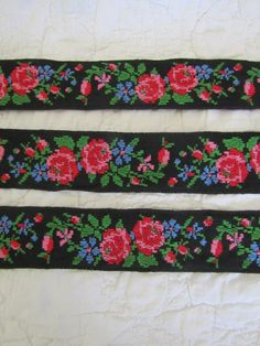 Vintage Rayon Seam Binding in Black .5 Ribbon 100 yards