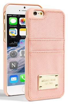 MICHAEL+Michael+Kors+Card+Holder+iPhone+6+Case+available+at+#Nordstrom