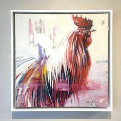 "Sriracha  / 20"" x 20"" / oil on linen @ Saladino Gallery, Covington Louisiana danny@saladinogallery.com"