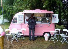 1974 Renault Estafette ice cream van