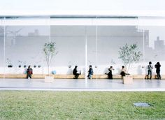 As Japanese architects Kazuyo Sejima and Ryue Nishizawa (otherwise known as Sanaa) are awarded the 2010 Pritzker prize, Jonathan Glancey looks back at some of their greatest buildings Japan Architecture, Museum Architecture, Architecture Design, Ryue Nishizawa, Architect Drawing, Patio Interior, New Museum, Museum Of Contemporary Art, Hyde Park