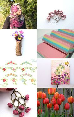 Spring Flowers... by Kurtulus on Etsy--Pinned with TreasuryPin.com