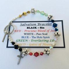 Salvation Bracelet by VMDesignsbyVicki on Etsy