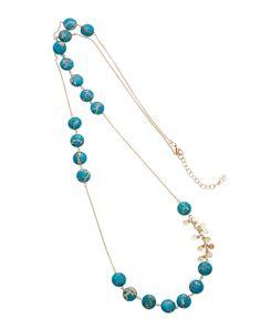 Ashiana London Delphine Blue Agate Necklace