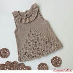 Сарафанчик по онлайну для внученьки. - Вязание для детей - Страна Мам