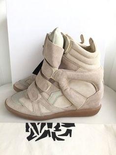 d7af2f31e89d Isabel Marant Sneakers Bekket Beige Athletic High Top Sneakers