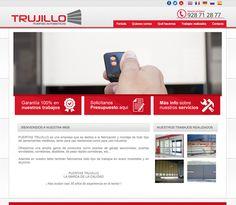 Puertrasautomaticaslaspalmas.es Puertas Trujillo es una empresa canaria con más de 20 años en el sector, especialistas en todo tipo de puertas automáticas.  #web_design #web #paginas_web #web_las_palmas #web_canarias #paginas_web_las_palmas #paginas_web_canarias