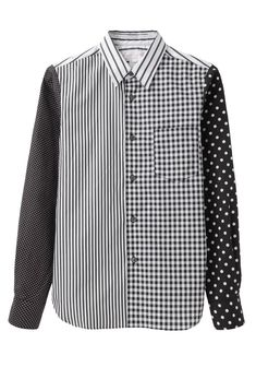 desperately need this. Comme des Garçons Shirt / Mixed Print Shirt