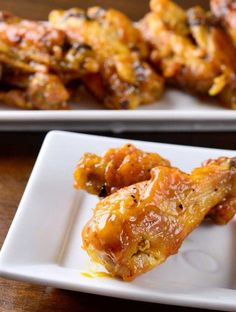 Spicy Honey Mustard Chicken Wings Recipe