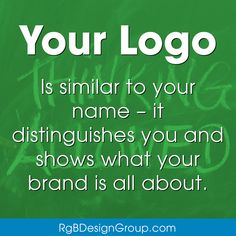 A Logo is another element of your brand that adds to the recognizability factor. Invest in a unique and memorable logo. Your color, name, and logo are your first-impression. Having them perfect means laying another (big) block of branding foundation. Email Marketing, Social Media Marketing, Of Brand, Design Development, Investing, Foundation, How To Memorize Things, Branding, Names
