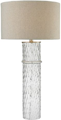 0-054987>1-Light 3-Way LED Table Lamp Clear
