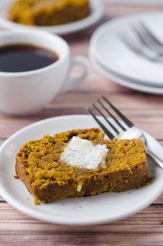 Vegan Whole Wheat Pumpkin Coconut Bread - The Cake Merchant, pumpkin recipes