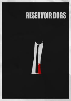 Reservoir Dogs - minimal movie poster