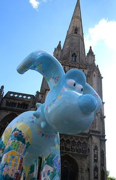 Bounty gromit, St Mary Redcliffe, Bristol