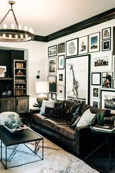 Glambarbie Black White Living Room I Adore This Home Designed By Heidi Woodman Of Haus Love A And Design Firm Located In