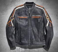 Men's Boulevard Leather Jacket | Leather | Official Harley-Davidson Online Store