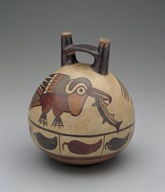 .Vessel  Artist Unknown (Nazca) (Peru, South America), 100 B.C.-A.D. 600