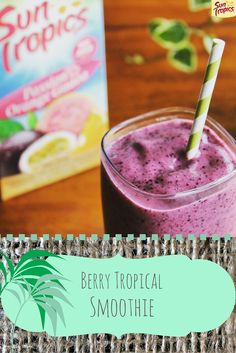 Yum! This tastes exactly like it's from a boutique smoothie shop. Kind of can't stop making these.