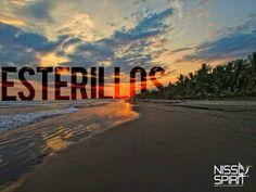 Esterillos Beach, Puntarenas.  Costa Rica #PuraVida #CostaRica #Travel #Sunset