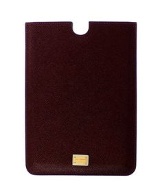 Red Leather iPAD Tablet eBook Cover Bag