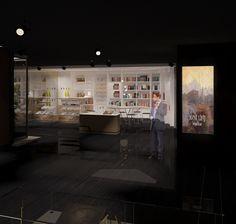 Avni Lifij Museum Design by interior designer Can Balkan...