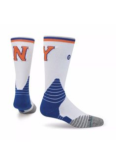 STANCE Fusion NBA New York Knicks Basketball Core Crew Socks L 9-12 NWT $26  | eBay