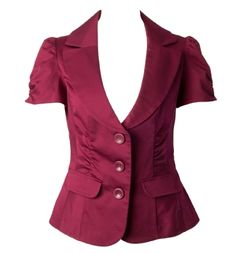 ruched body blazer - Thinking about picking this up. Still in the maybe stage.