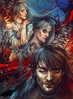 ~Cahir's dream~ by JustAnoR on DeviantArt