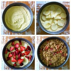 justfordaisy: Recipe:: Strawberry and Apple Crumble Cake
