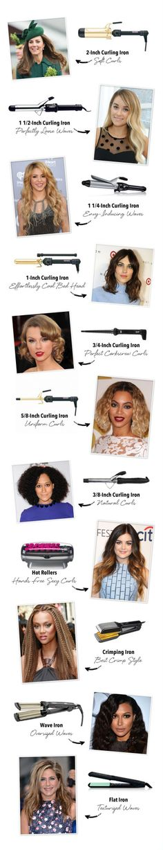 The perfect curling tool for every style Via