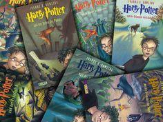 Harry Potter 1 - 7 :o)