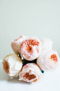 Blush bulb roses #wedding bouquet