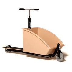 Coffee & Cream Nimble Cargo Scooter