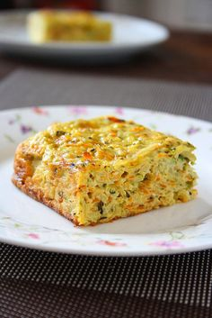 Vegetable Cake... MY Kinda Cake! Use Sweet Potatoes and Almond Flour and BOOM! It's Paleo!