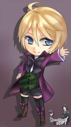 Chibi Alois!! <3 kuroshitsuji (black butler)