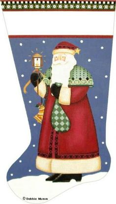 Love Lights Santa  Debbie Mumm  DM 41-2B