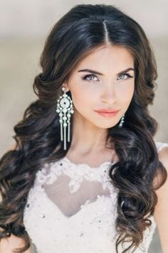 Long Wedding Hairstyles and Bridal Updo Hairstyles for Long Hair from elstile-spb 17