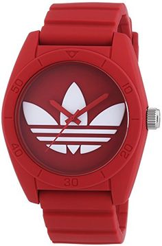 adidas Santiago - Reloj, de color rojo