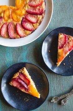 Gluten-Free Pluot Torte | Healthy Nibbles & Bits