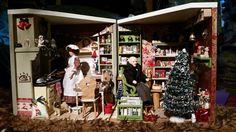 Kerstkamer (rechts) staat naast de kerstkeuken