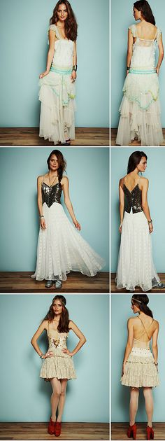 Alternative wedding dresses we love from Free People